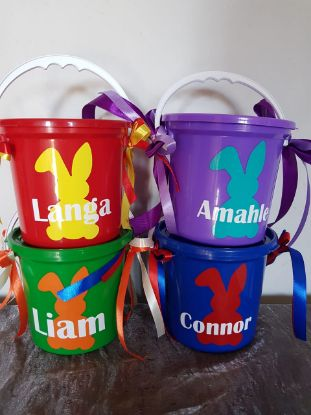 Picture of Easter Personalized Party Bucket