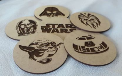 Picture of Coaster Set - Star Wars