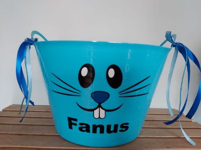 Picture of Personalized Flexi Easter Bucket