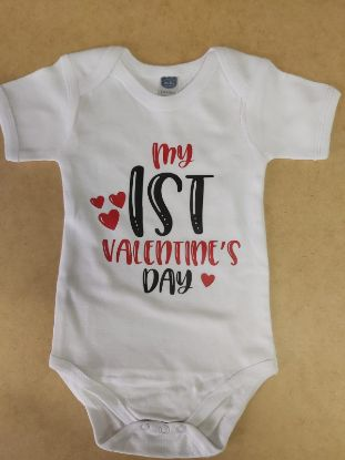 Picture of Baby grow - My 1st Valentine's Day